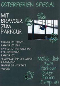Sport Osterferien Kids Parkour